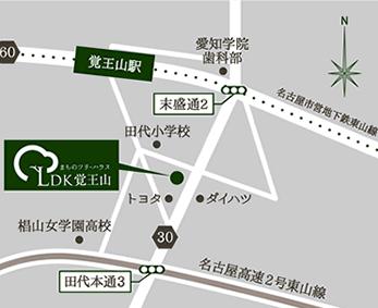 LDK覚王山地図